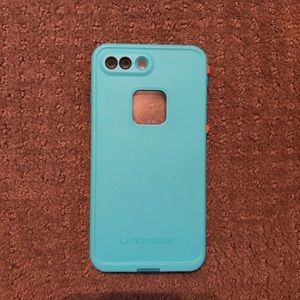iPhone 8/7 Plus Lifeproof Fré Phone Case Teal